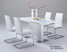 Lorenzo étkezőasztal fehér